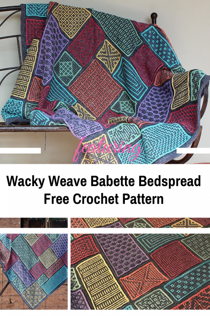 How To Crochet An Amazing Babette Bedspread Knit And Crochet Daily