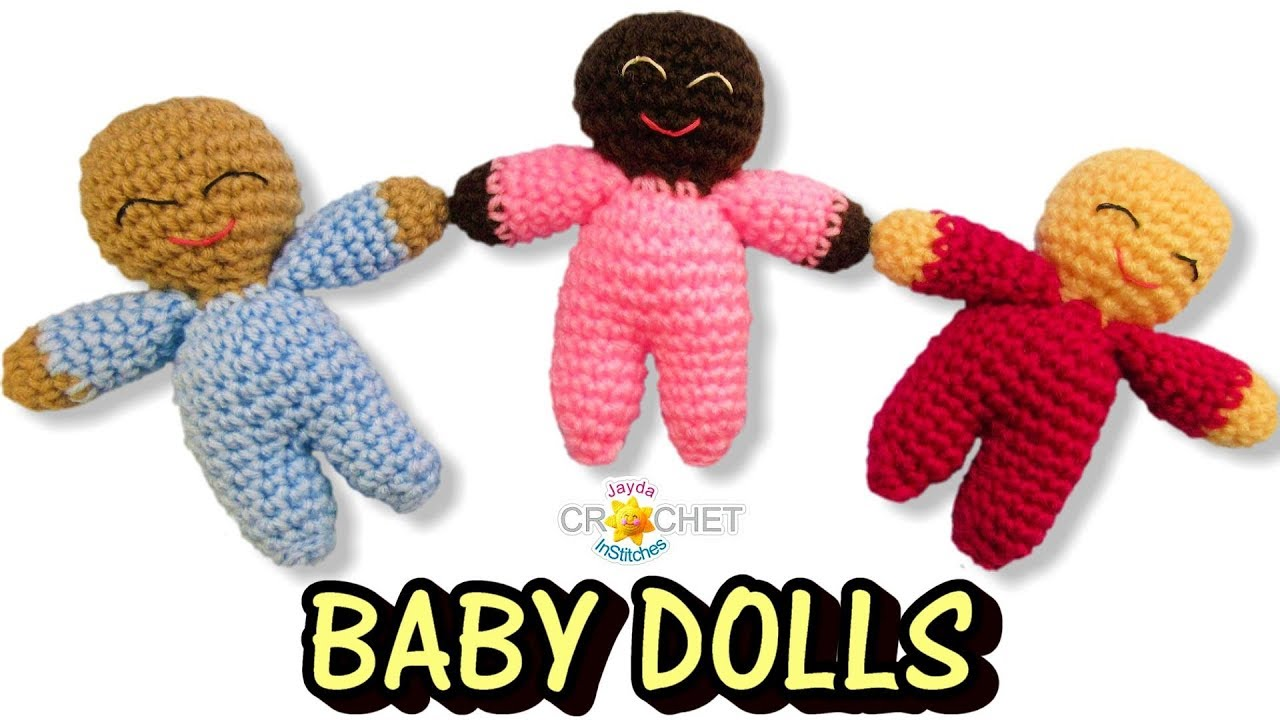 15+ Free Crocheted Doll Patterns • Free Crochet Tutorials | 720x1280