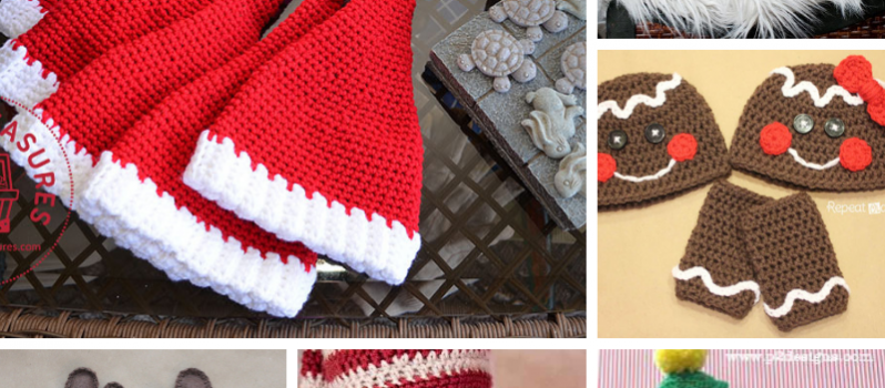 825f992f0 6 Awesome Crochet Christmas Hats Pattern Ideas To Kick Your ...