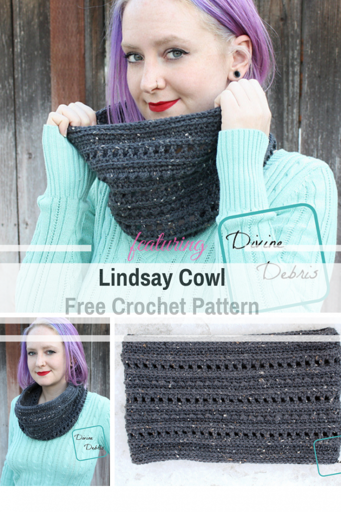 Super Simple Crochet Cowl Free Pattern To Keep Ya Warm