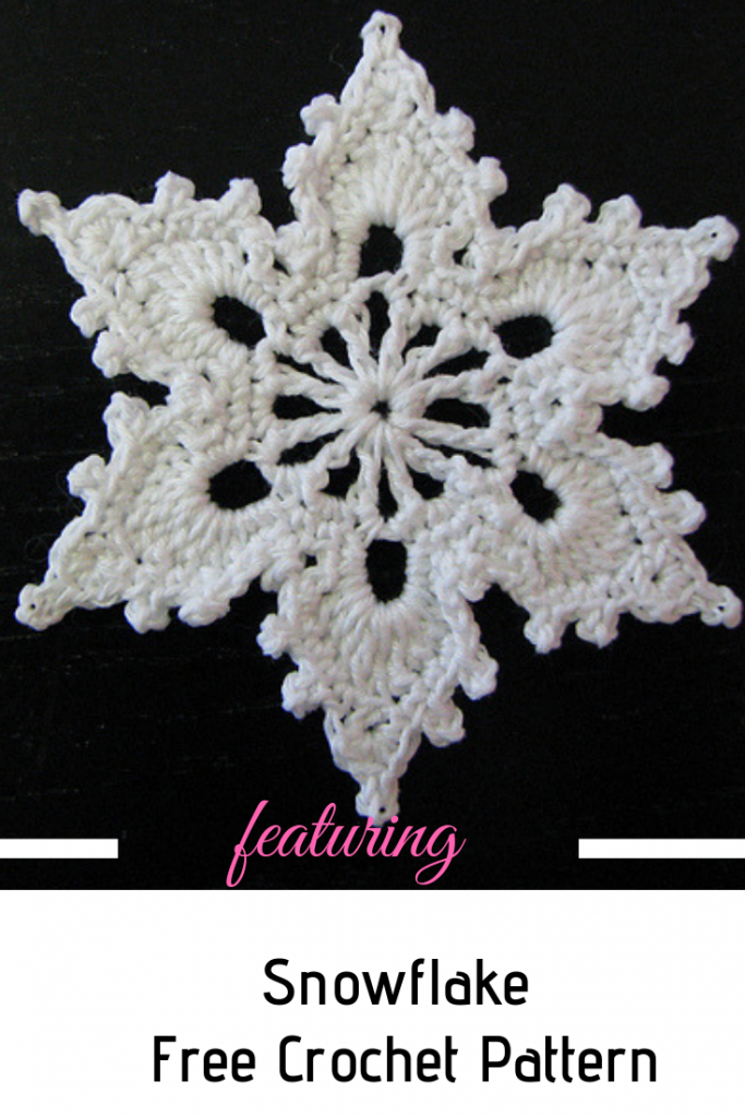 How To Crochet A Snowflake