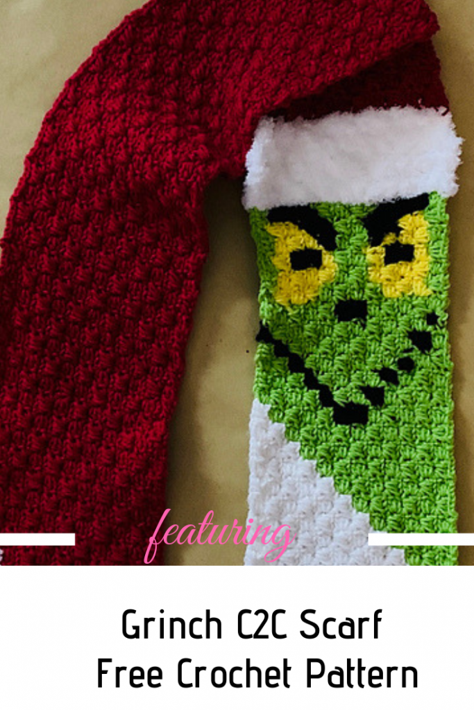 Fabulous Crochet Grinch Scarf Pattern To Stay Warm This Winter