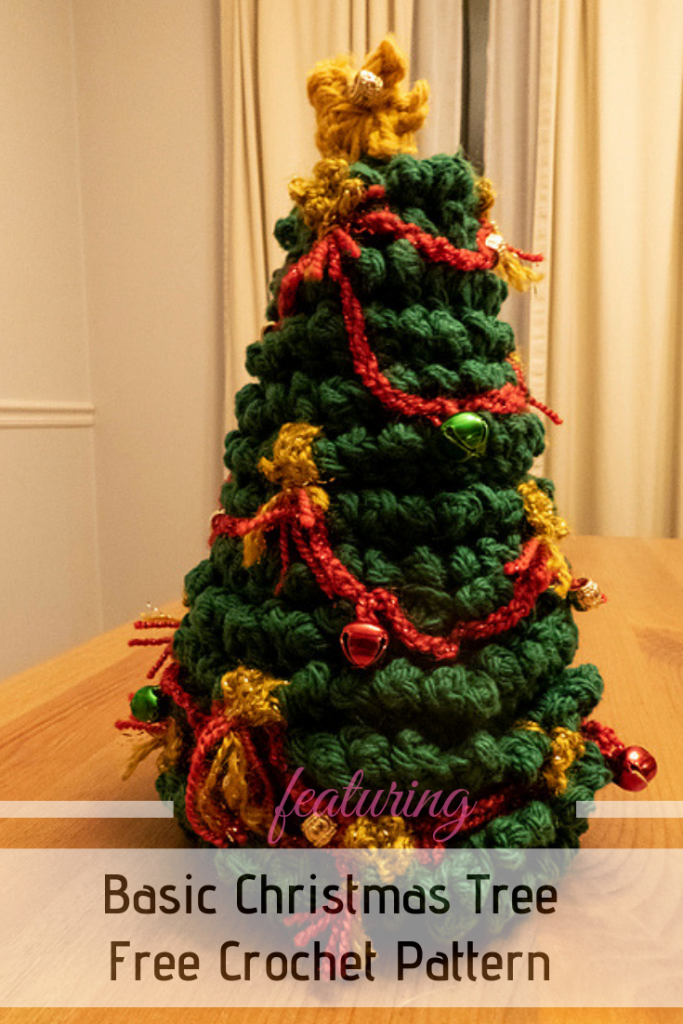 Cutest Tabletop Christmas Tree Free Crochet Pattern