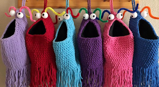 Brilliant Yip Yips Themed Christmas Stocking Pattern For