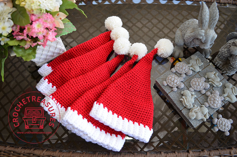 6 Awesome Crochet Christmas Hats Pattern Ideas To Kick Your Crocheted Hat Fever Into High Gear