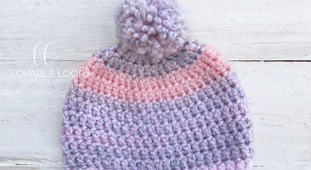Easy 40 Minute Baby Beanie Free Crochet Pattern For Beginners Knit
