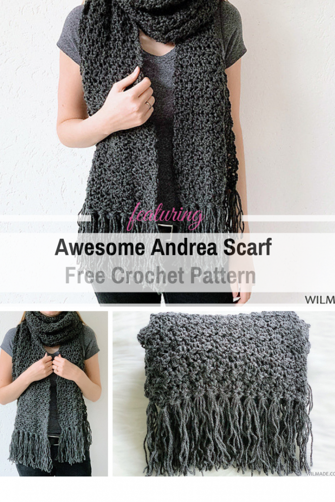 Fast And Super Simple Crochet Scarf Free Pattern