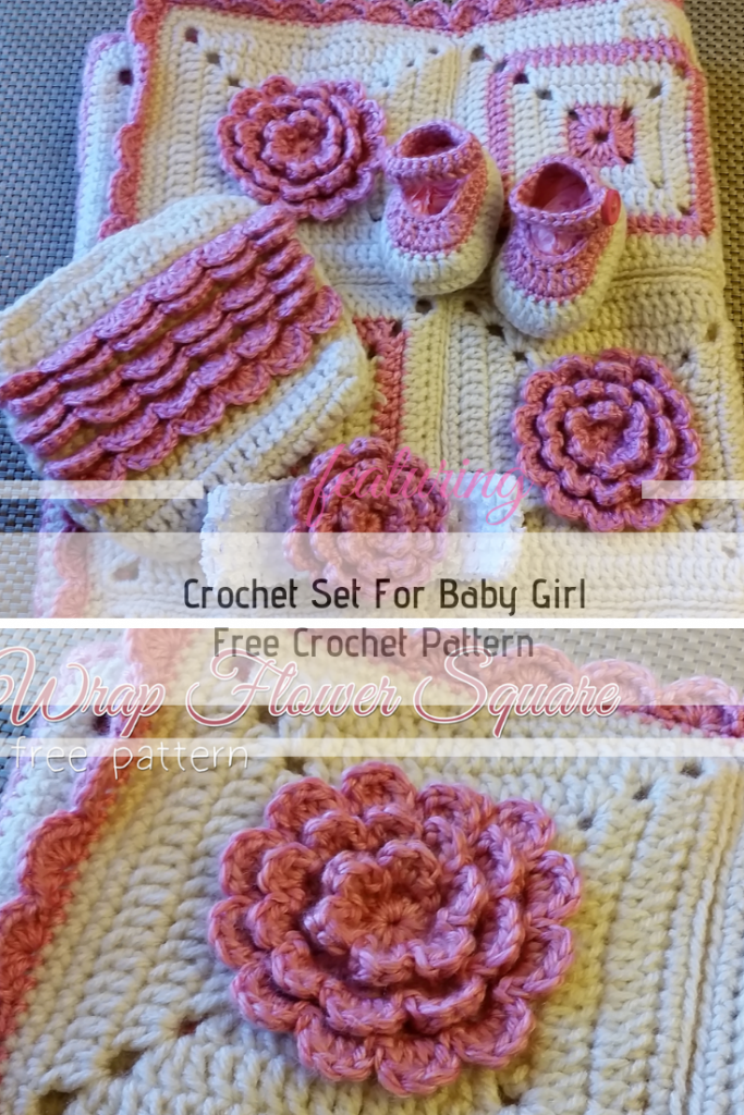 Crochet Set For Baby Girl Free Patterns