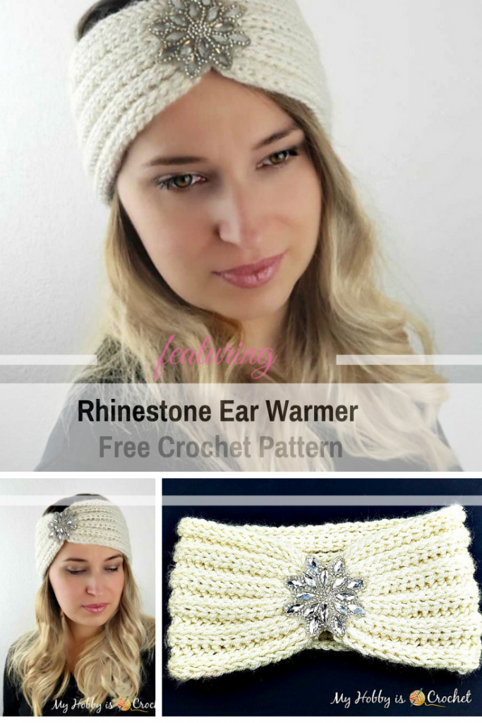 Warm And Stylish Ear Warmer Free Crochet Pattern