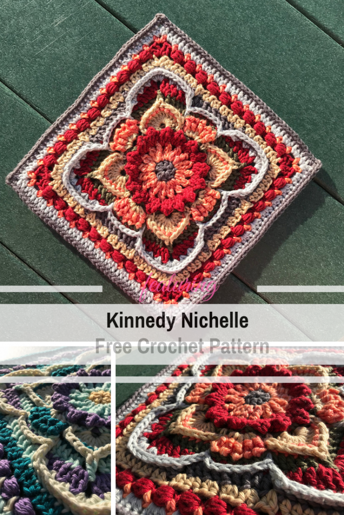 Unique Granny Square Crochet Pattern With A Fabulous Design