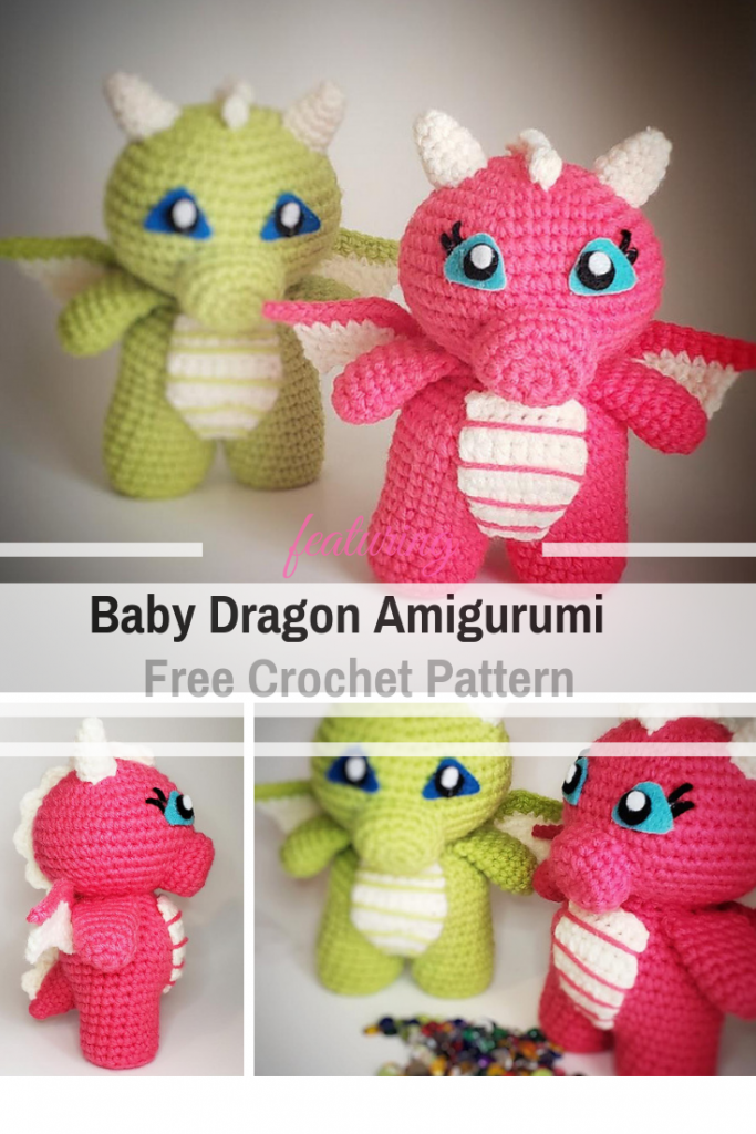 22 Totally Adorable Amigurumi Dragon Patterns You Need to Make for ... | 1024x683
