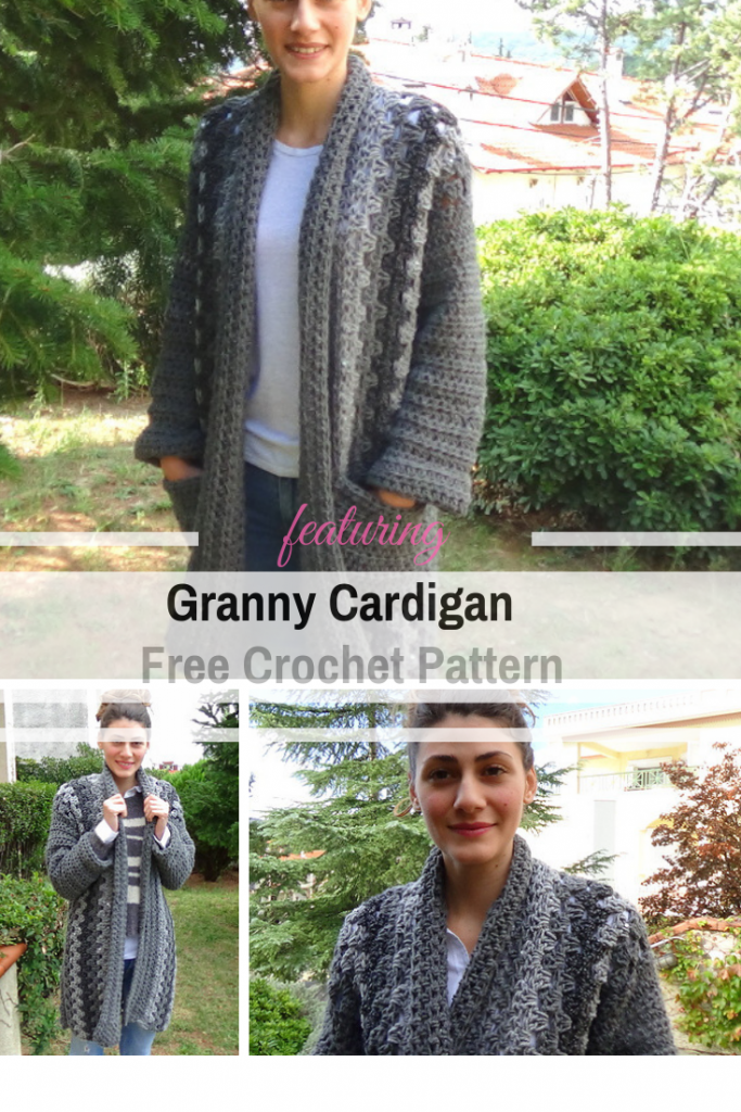 This Easy Chunky Crochet Cardigan Is Perfect for Chilly Days