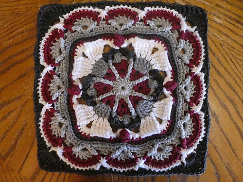 Fantastic Afghan Block Square With A Wonderful