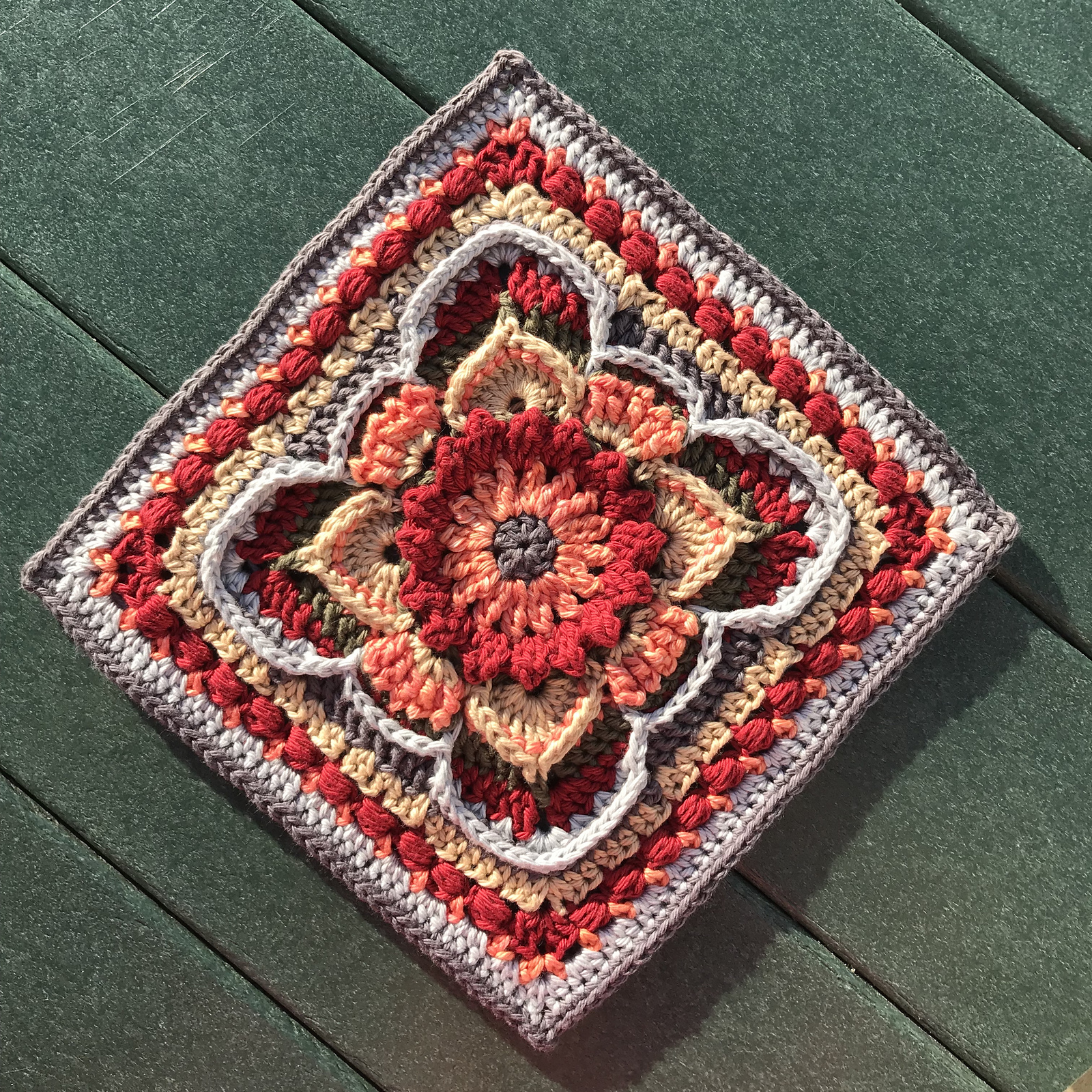 Unique Granny Square Crochet Pattern With A Fabulous