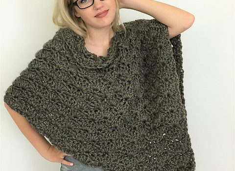 809d3c02c Quick And Easy Poncho Free Crochet Pattern- Perfect For Craft Fair  Inventory And Gift Projects!