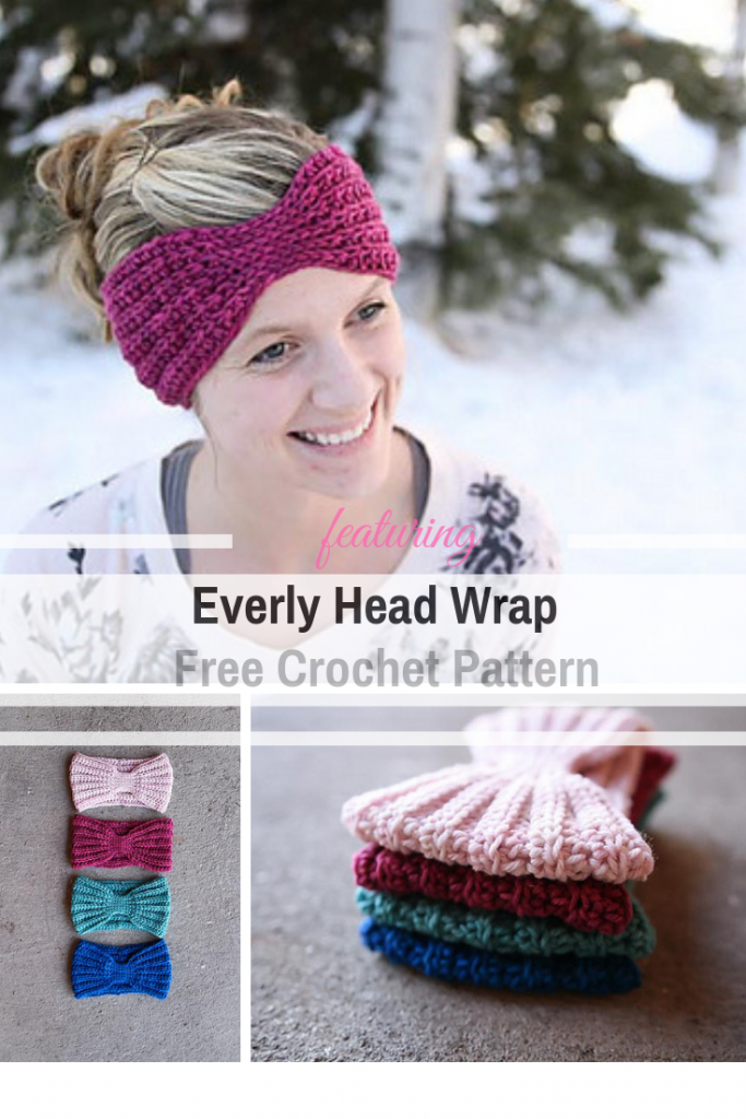 Quick And Easy Head Wrap Free Crochet Pattern That Fits Really Well (Child Size Available Too!)
