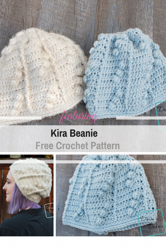 Cute Crochet Hat With Lots Of Bobbles