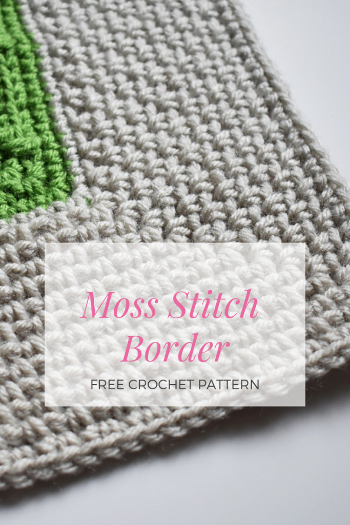 Impress Everyone With This Simple And Beautiful Moss Stitch Border