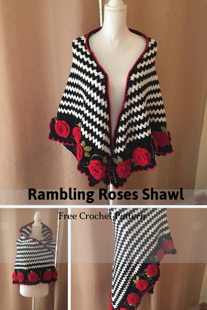 This Romantic Crochet Shawl Is A Story Of Love Perfect For Valentines Day