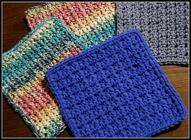 Quick And Easy Dishcloth Pattern Knit And Crochet Daily