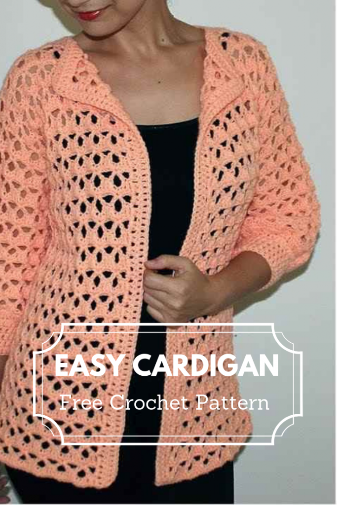 [Video Tutorial] Easy Crochet Sweater Pattern For Beginners