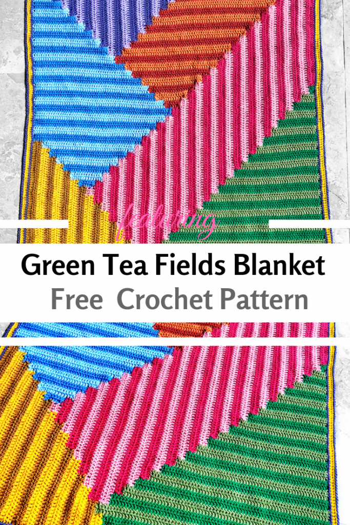 Amazing Striking Crochet Blanket Pattern To Liven Up Those Spaces That Need A Little Help