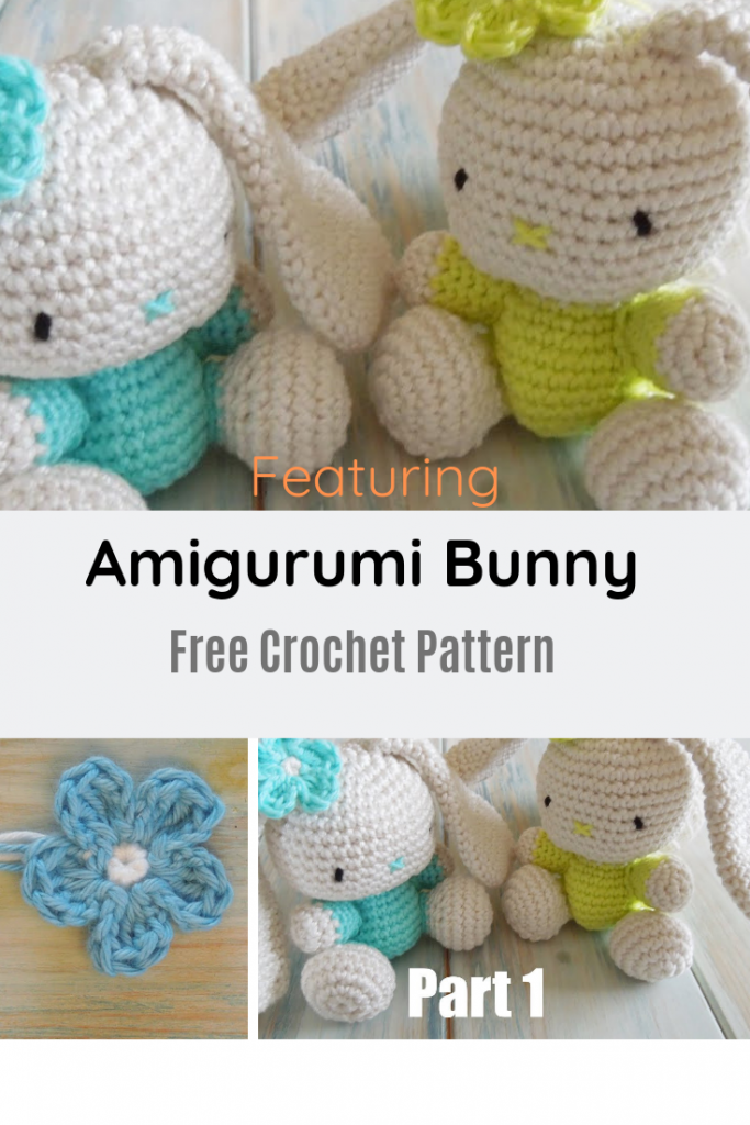 Adorable Bunny Crochet Pattern – Great Size For Little Hands