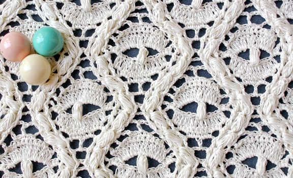 Learn A New Crochet Stitch Crochet Textured Lace Stitch Knit And