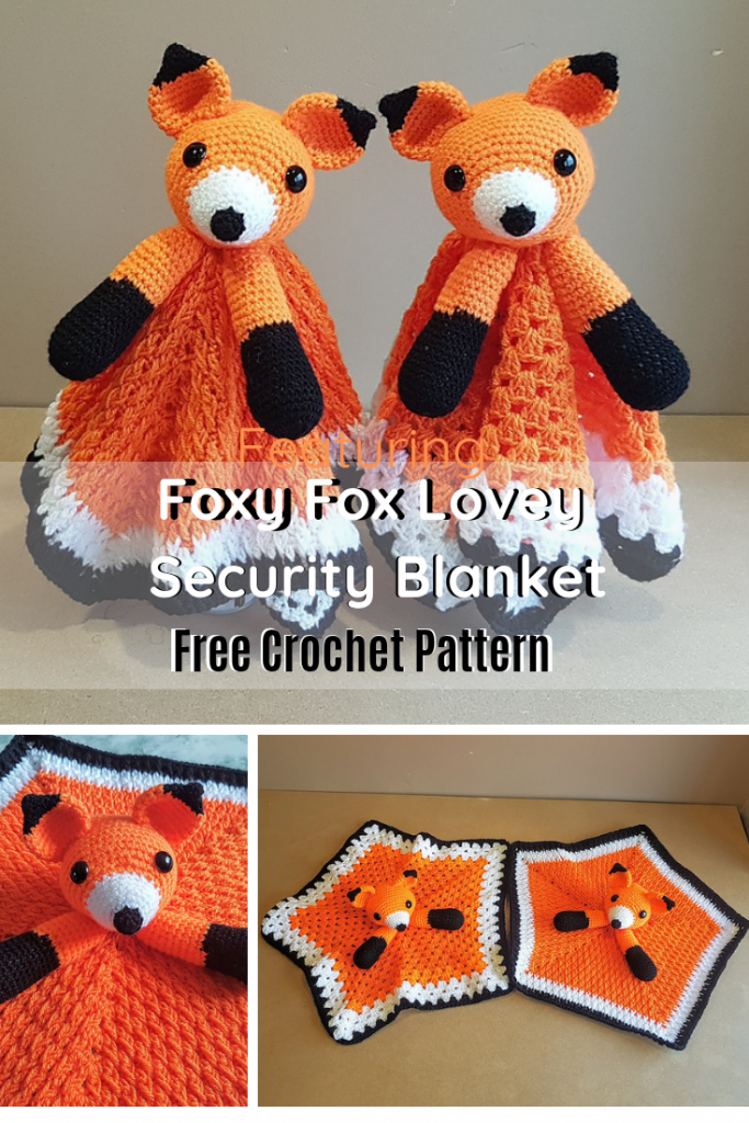 This Cute Fox Lovey Security Blanket Quickly Becomes A Favorite