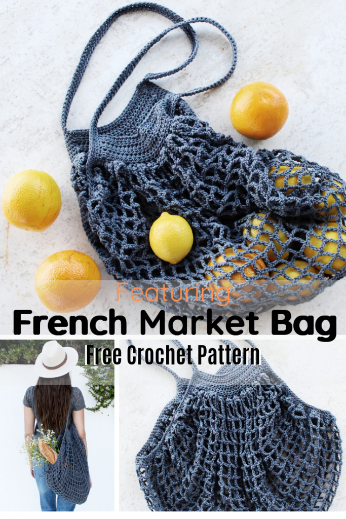 Easy And Fabulous Crochet French Market Bag Free Pattern