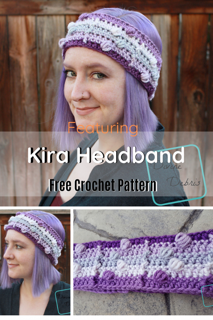 Easy Crochet Textured Headband Free Pattern Is Perfect For Making A Statement