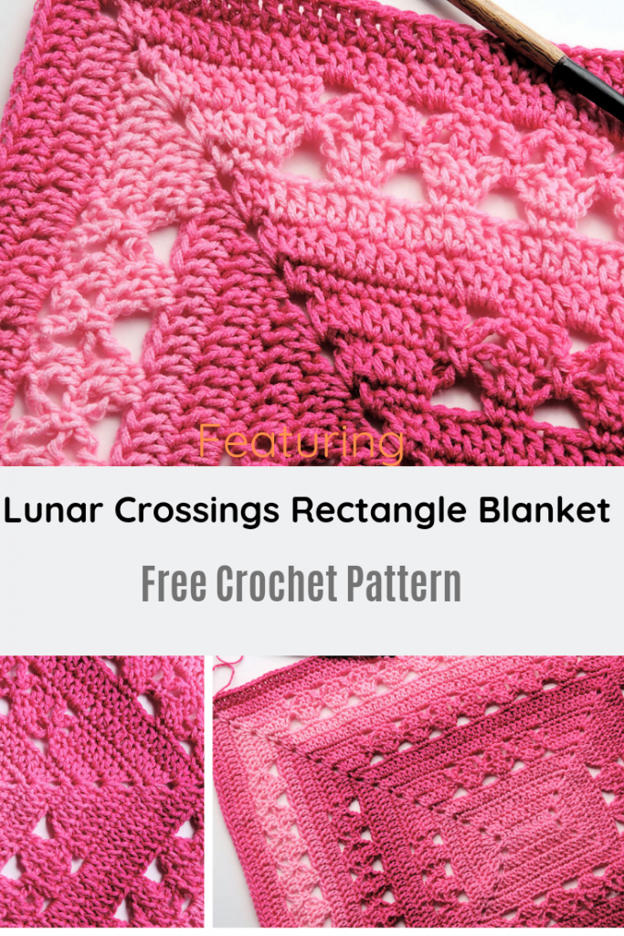 Simple And Beautiful Rectangle Blanket Free Crochet Pattern