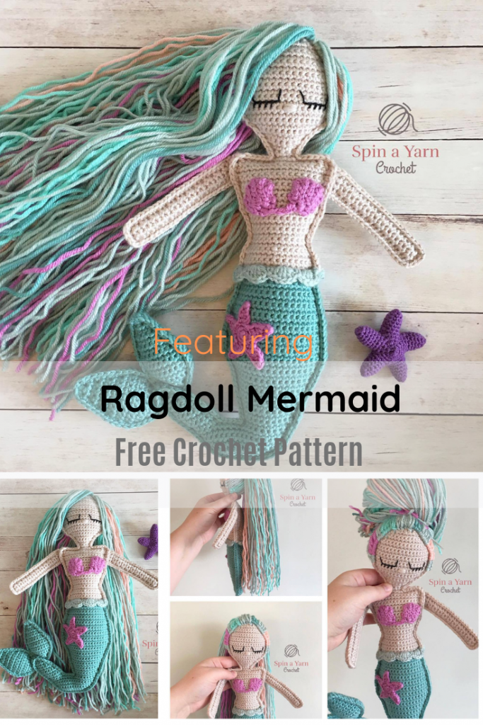 Super Fun And Easy Mermaid Crochet Doll Pattern