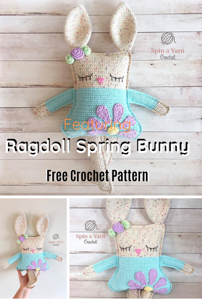 Absolutely Darling Bunny Doll Pattern
