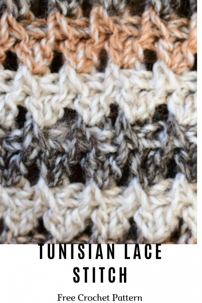 Learn A new Crochet Stitch: Tunisian Lace Stitch