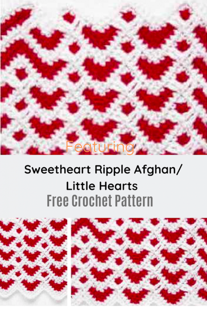 Quick Sweetheart Ripple Afghan Free Pattern