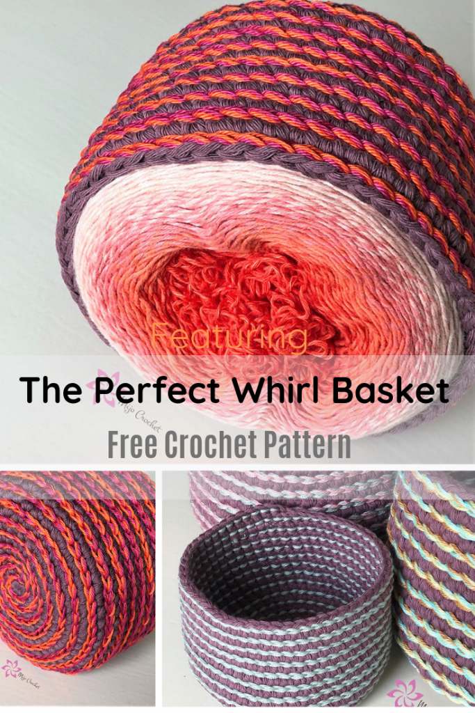The Perfect Yarn Basket Pattern- Three Different Sizes