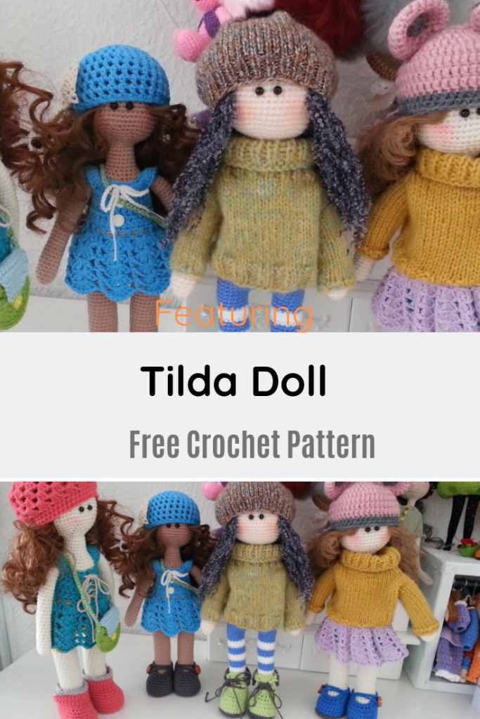 Absolutely Fabulous Tilda Doll Free Crochet Pattern