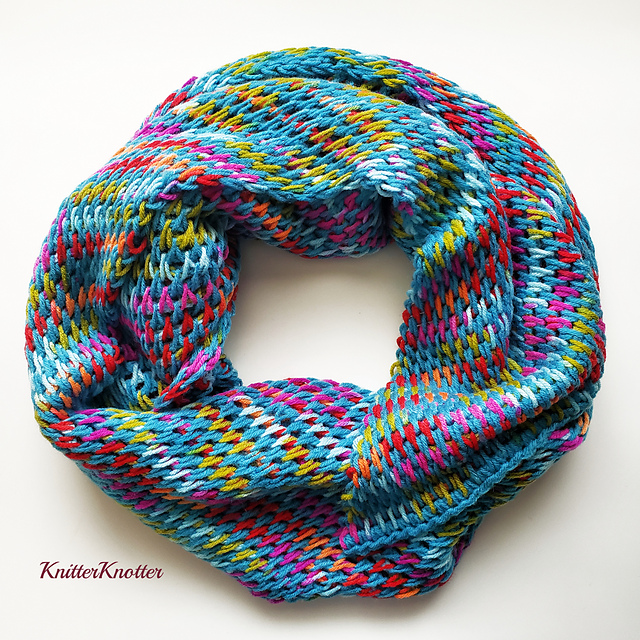 Beautiful Reversible Shawl Pattern Made Up Of Only One Stitch