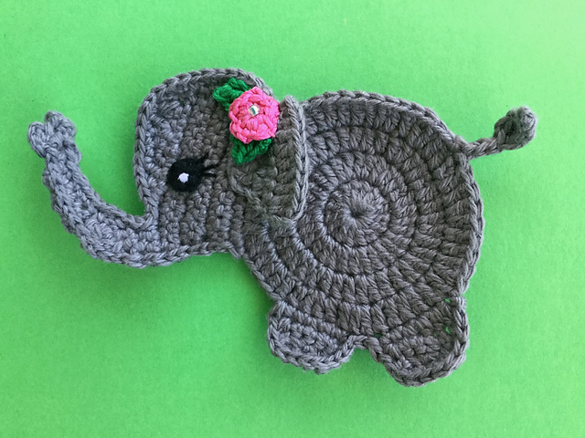 Elephant Amigurumi - Free Crochet Pattern • Craft Passion | 480x640