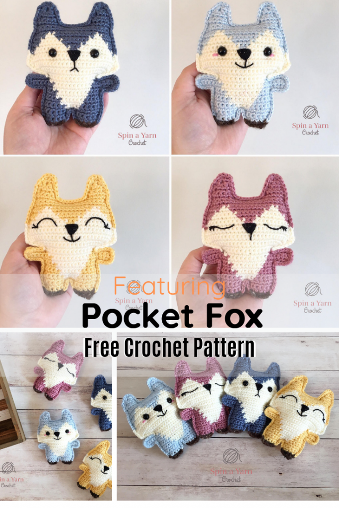 Cutest Fox Amigurumi Fits Your Pocket!
