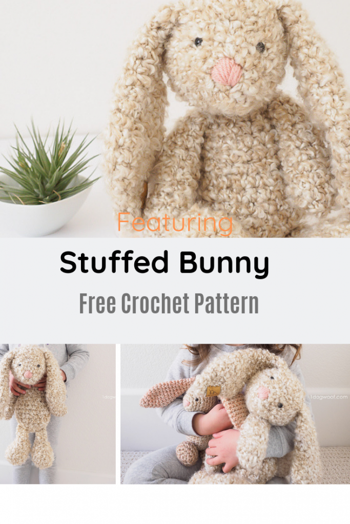 Perfectly Snuggly Stuffed Bunny Pattern