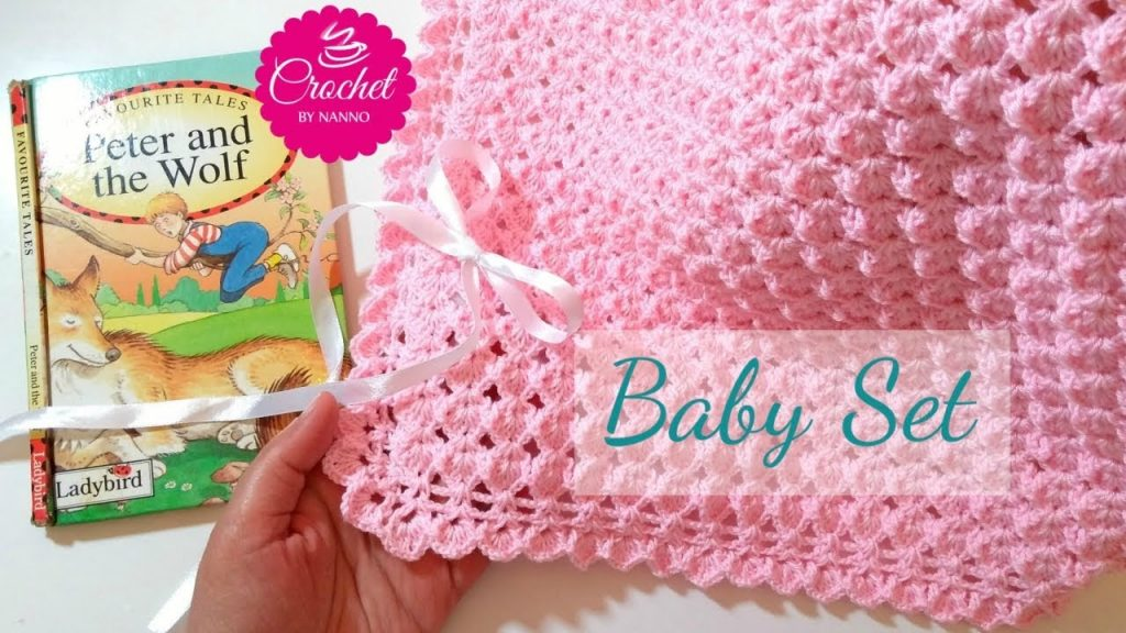 [Video Tutorial] Fast And Easy Baby Blanket Crochet Pattern