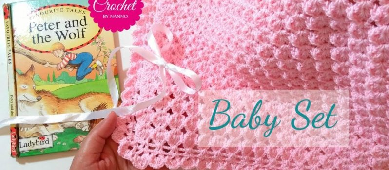 Video Tutorial Fast And Easy Baby Blanket Crochet Pattern Knit