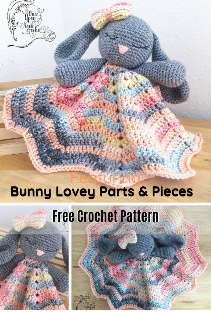 Sweet And Easy Bunny Lovey Crochet Pattern For Beginners