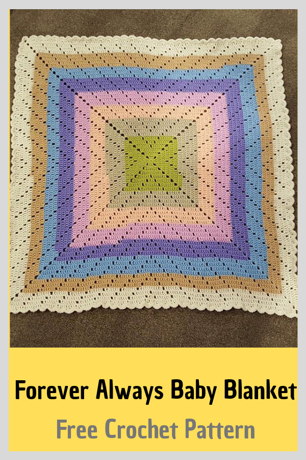Awesome Stash Buster Crochet Blanket Free Pattern