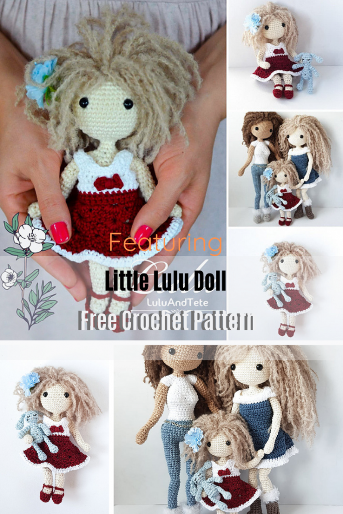How To Crochet A Doll With Clothes