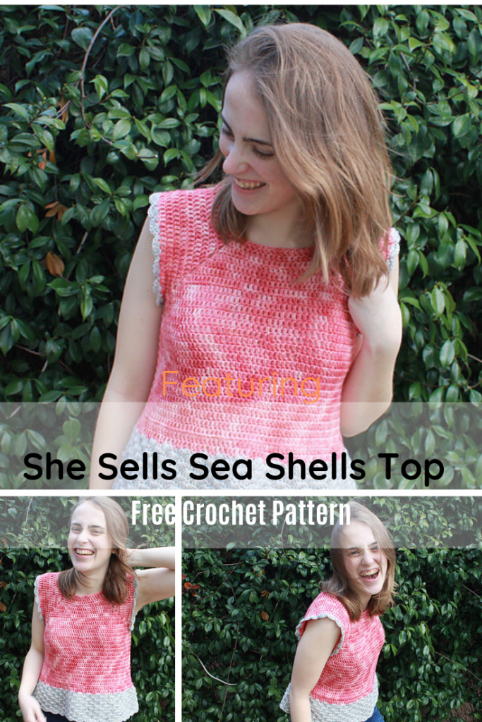 Simple And Easy Crochet Top Pattern XS-5X