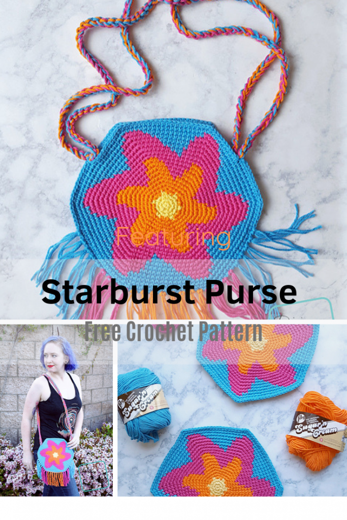 Love Crochet Purses With Stars On Them? Try This Free Crochet Pattern!