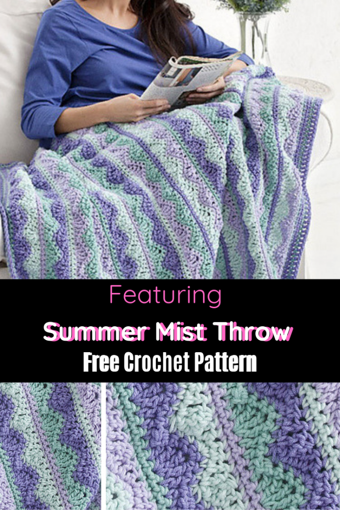 Lovely, Quick And Easy Crochet Throw Pattern